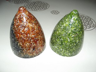 Orgonite - Grand dôme - Réf GD1